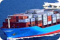 Seefracht und multimodal Containerlieferung (FCL – Full container load)