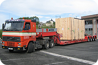 Oversized and heavy cargo transportation